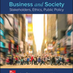 Test Bank For Business and Society: Stakeholders, Ethics, Public Policy 16th Edition By Lawrence