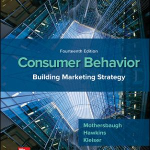 Test Bank For Consumer Behavior: Building Marketing Strategy 14th Edition By Mothersbaugh