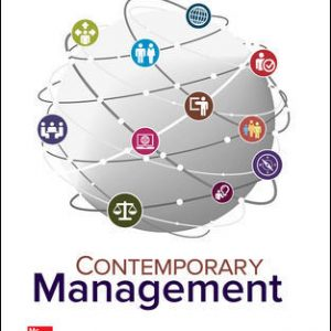 Test Bank For Contemporary Management 10th Edition By Jones