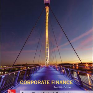 Test Bank For Corporate Finance 12th Edition By Ross