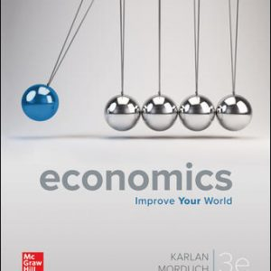 Test Bank For Economics 3rd Edition By Karlan