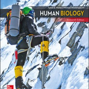 Solution Manual For Human Biology 16th Edition By Mader