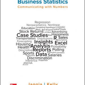 Test Bank for Business Statistics: Communicating with Numbers 3rd Edition By Jaggia