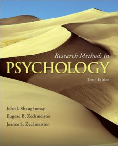 Test bank For Research Methods in Psychology 10th Edition By Shaughnessy