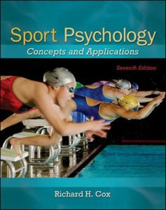 Test Bank For Sport Psychology: Concepts and Applications 7th Edition By Cox
