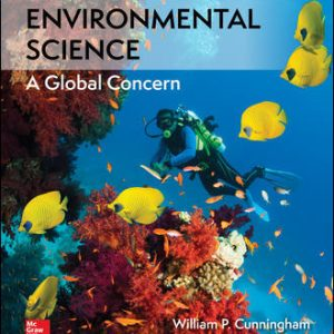 Test Bank For Environmental Science 14th Edition By Cunningham