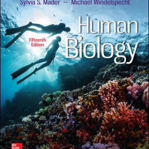 Test Bank For Human Biology 15th Edition By Mader