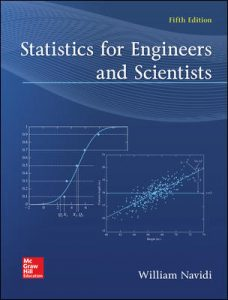 Test Bank For Statistics for Engineers and Scientists 5th Edition By Navidi