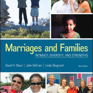 Test Bank For Marriages and Families: Intimacy, Diversity, and Strengths 9th Edition By Olson