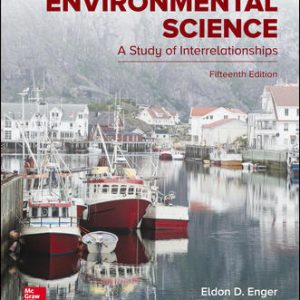 Test Bank For Environmental Science 15th Edition By Enger