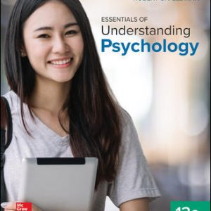 Test Bank For Essentials of Understanding Psychology 13th Edition By Feldman