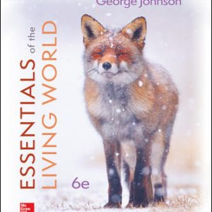 Test Bank for Essentials of The Living World 6th Edition By Johnson