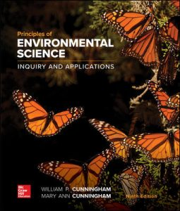Test Bank For Principles of Environmental Science 9th Edition By Cunningham