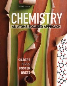 Solutions Manual for Chemistry: An Atoms-Focused Approach 2nd edition by Brewer