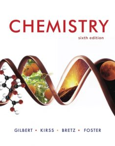 Solution Manual for Chemistry 6th edition by Gilbert