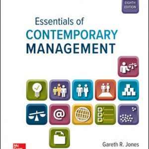 Test Bank For Essentials of Contemporary Management 8th Edition By Jones