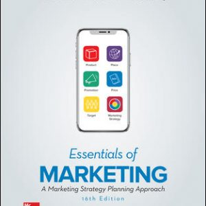 Test Bank For Essentials of Marketing 16th Edition By Perreault Jr.