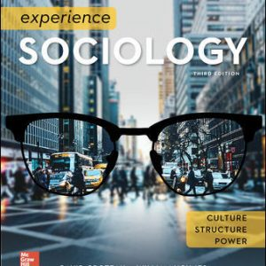 Test Bank For Experience Sociology 3rd Edition By Croteau