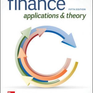 Test Bank For Finance: Applications and Theory 5th Edition By Cornett