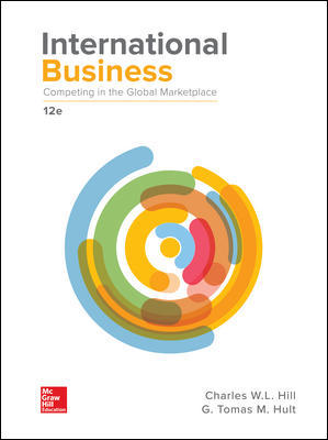 Test Bank For International Business: Competing in the Global Marketplace 12th Edition By Hill