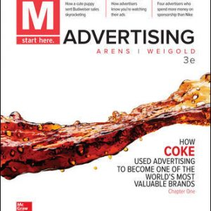 Test Bank For M: Advertising 3rd Edition By Arens