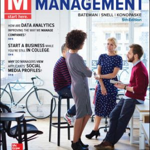 Test Bank For M: Management 5th Edition By Bateman