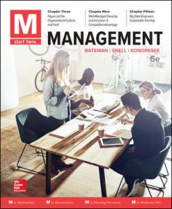 Test Bank For M: Management 6th Edition By Bateman