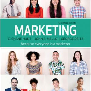 Test Bank For Marketing Loose Leaf 2nd Edition By Hunt