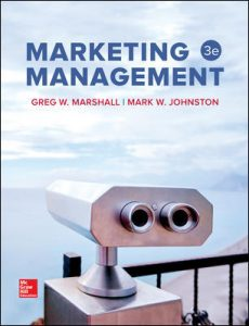 Test Bank For Marketing Management 3rd Edition By Marshall