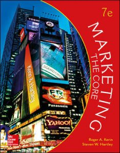Test Bank For Marketing: The Core 7th Edition By Kerin