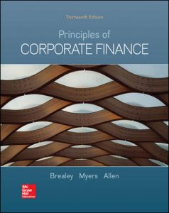 Test Bank For Principles of Corporate Finance 13th Edition By Brealey