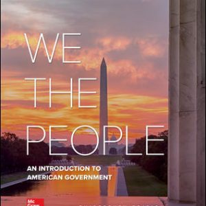 Test Bank For We The People 13th Edition By Patterson