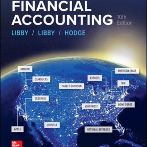 Test Bank for Financial Accounting 10th Edition By Libby