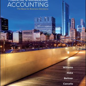 Test Bank for Financial & Managerial Accounting 18th Edition By Williams