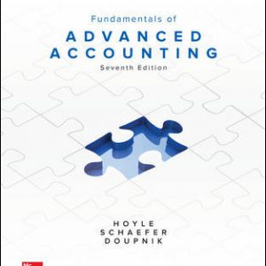 Test Bank for Fundamentals of Advanced Accounting 7th Edition By Hoyle
