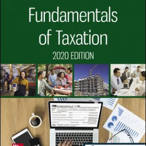 Test Bank for Fundamentals of Taxation 2020 Edition 13th Edition By Cruz