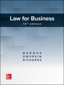 Test Bank for Law for Business 13th Edition By Barnes