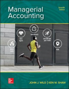 Test Bank for Managerial Accounting 7th Edition By Wild