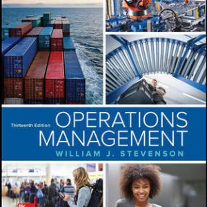 Test Bank for Operations Management 13th Edition By Stevenson