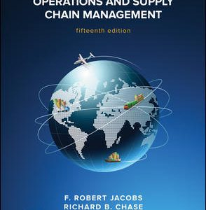 Test Bank for Operations and Supply Chain Management 15th Edition By Jacobs