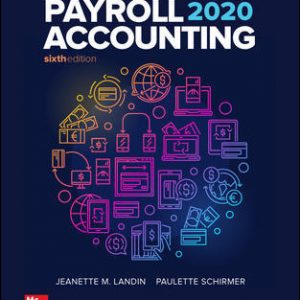 Test Bank for Payroll Accounting 2020 6th Edition By Landin