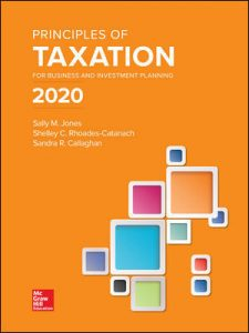 Test Bank for Principles of Taxation for Business and Investment Planning 2020 Edition 23rd Edition By Jones