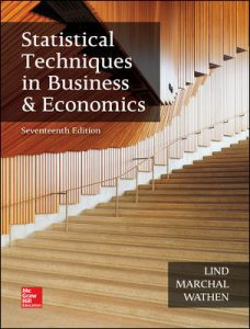 Test Bank for Statistical Techniques in Business and Economics 17th Edition By Lind