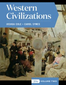 Solution Manual for Western Civilizations Full 20th Edition by Cole