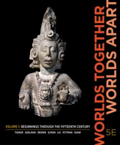 Solution Manual for Worlds Together, Worlds Apart 5th Edition Volume 1 by Tignor